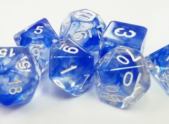 Blue Space Dice (Nebula)