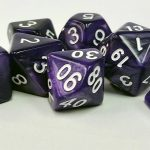Purple Pearl Dice