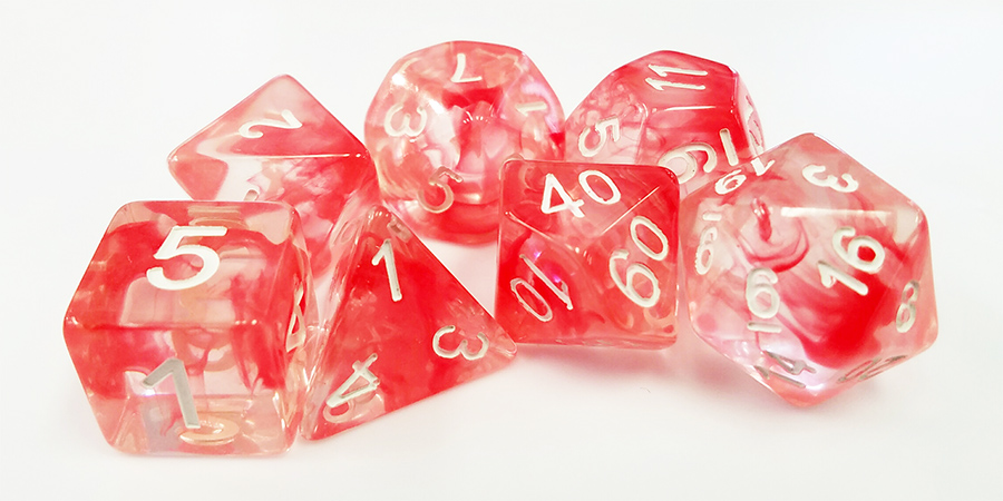 Red Space Dices (Nebula)
