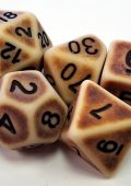 Antiqued Parchment Dice Have Arrived!
