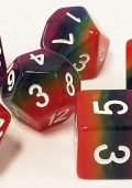 Tons of new dice coming soon, including rainbow dice!